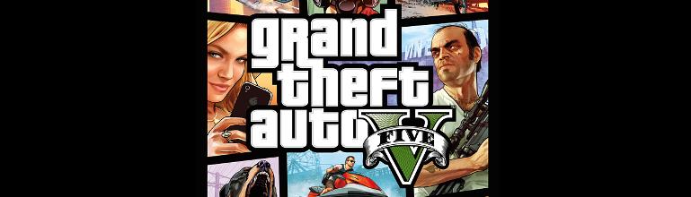 Grand Theft Auto V : La jaquette officielle