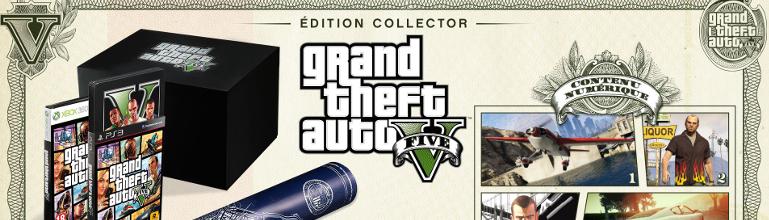 Grand Theft Auto V : Présentation des éditions spéciale et collector