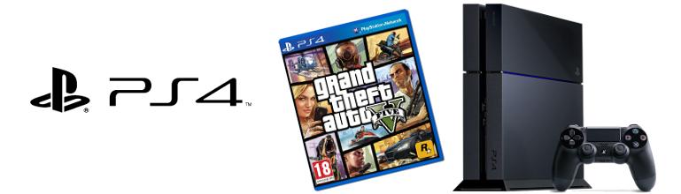 Le Pack GTA V + PS4 confirmé ?
