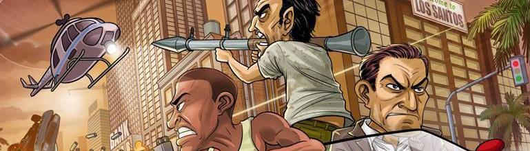 Patrick Brown nous livre un nouvel artwork de GTA V !