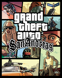 Jaquette GTA San Andreas