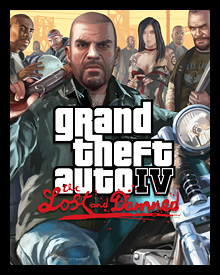 Jaquette GTA IV The Lost and Damned