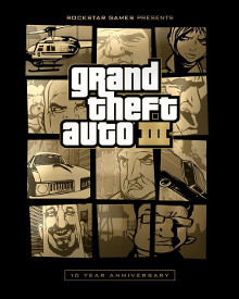 jaquette Grand Theft Auto III 10th Anniversary