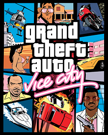 Jaquette GTA Vice City