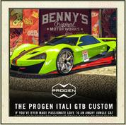 DLC Progen Itali GTB