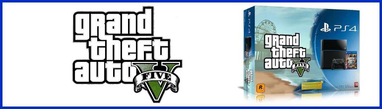 Le pack PlayStation 4 et Grand Theft Auto V se montre