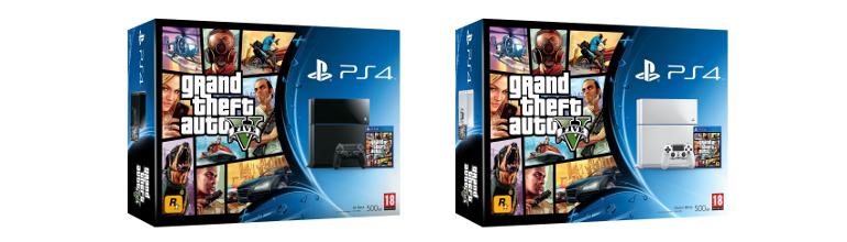 [Officiel] Deux Pack PS4 annoncés pour la sortie de GTA V