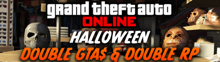 GTA Online : Weekend spécial Halloween !