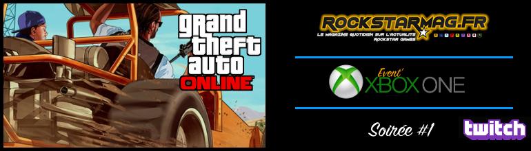 Soirée Xbox One #1 sur Rockstar Mag'