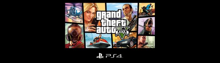 Grand Theft Auto V est le jeu le plus vendus sur PlayStation 4
