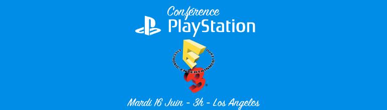 E3 2015 : Résumé de la Conférence Sony