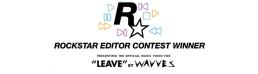 Bannière annonçant le vainqueur du concours Rockstar Editor