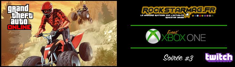 Soirée Xbox One #3 sur Rockstar Mag'