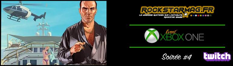 Soirée Xbox One #4 sur Rockstar Mag'