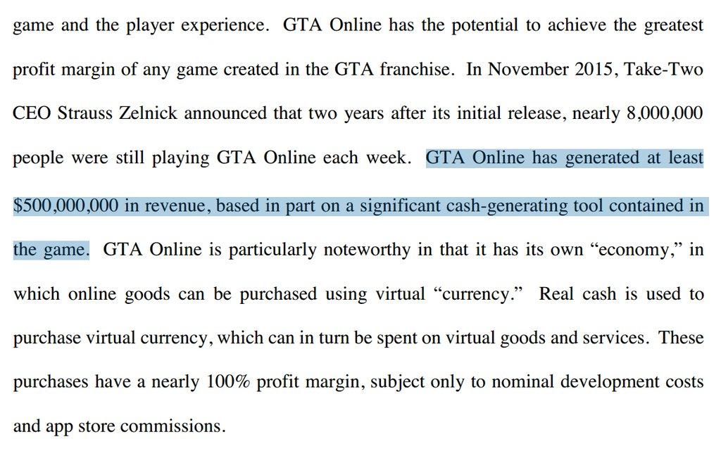 GTA Online recettes