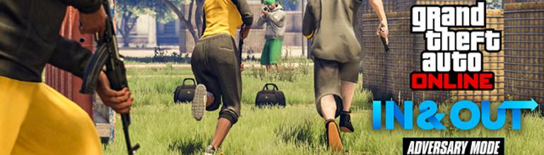 GTA Online – Le nouveau mode «Vol au Détalage» est disponible !