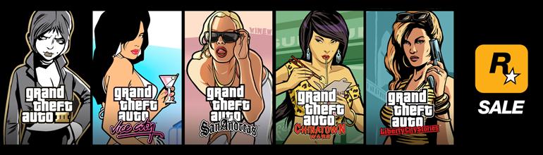 Les Grand Theft Auto soldés sur iOS jusqu'a demain