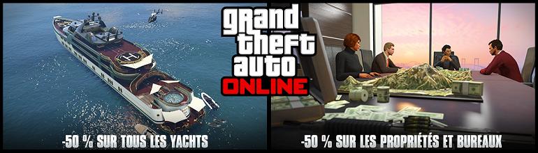 Nouvelle semaine spéciale sur GTA Online du 9 au 15 Septembre