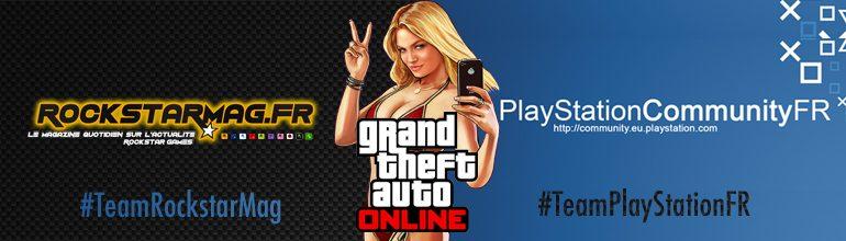 Soirée GTA Online sur PS4 avec les Forums Officiels PlayStation