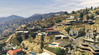 Mystère GTA V Vinewood Hills
