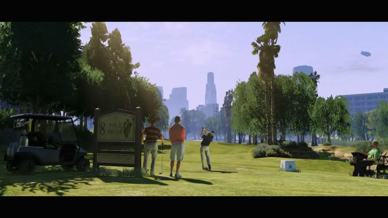 Mystère GTA V Golf