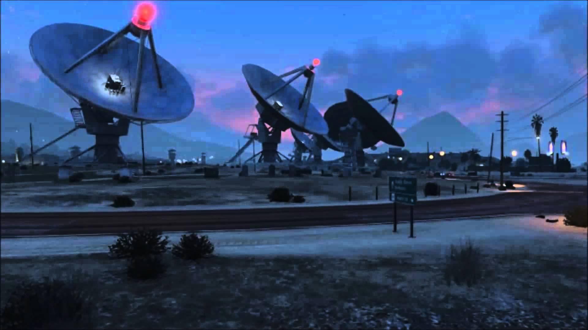 Mystère GTA V Radiotelescope