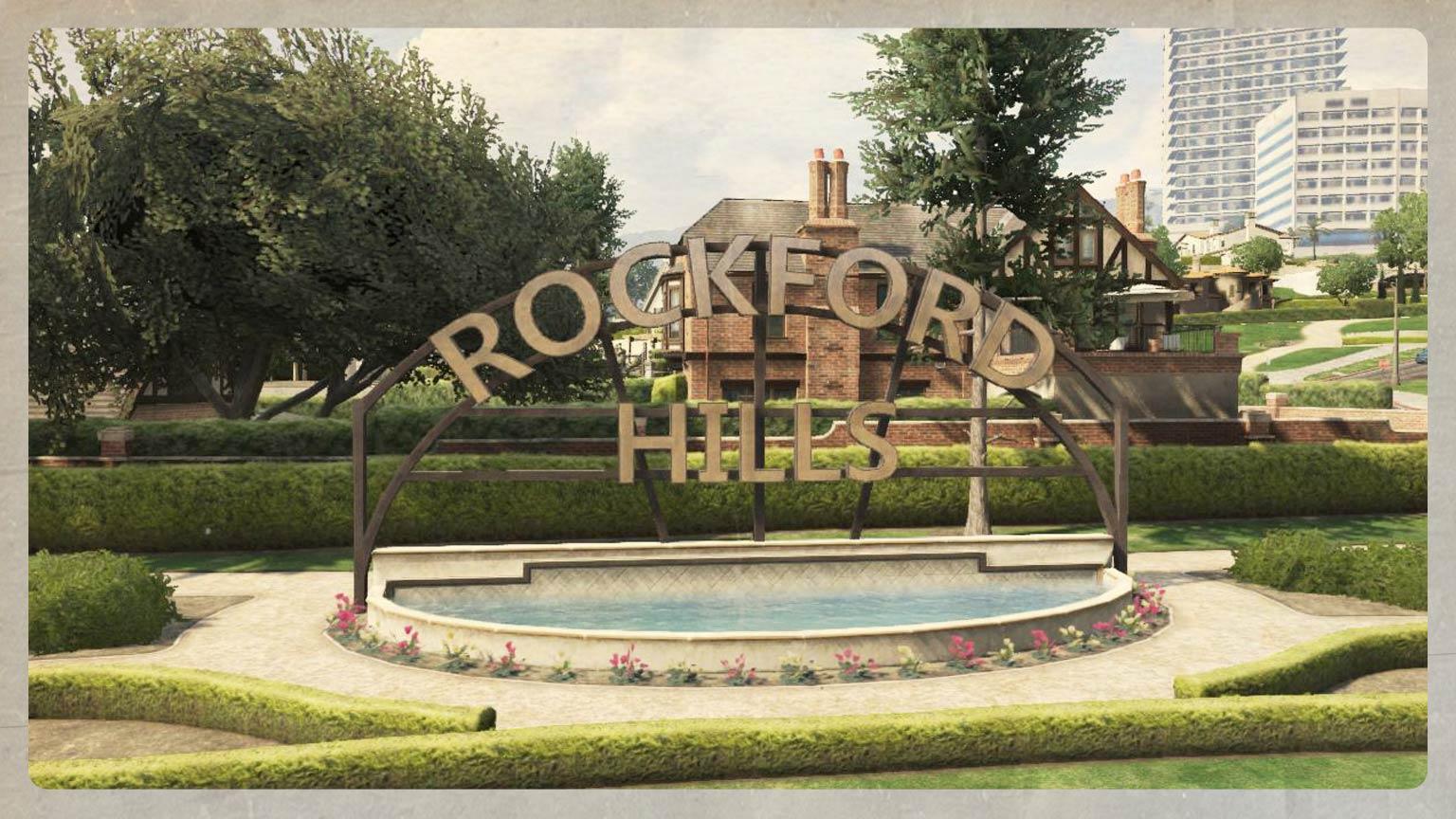 Mystère GTA V Rockford Hills