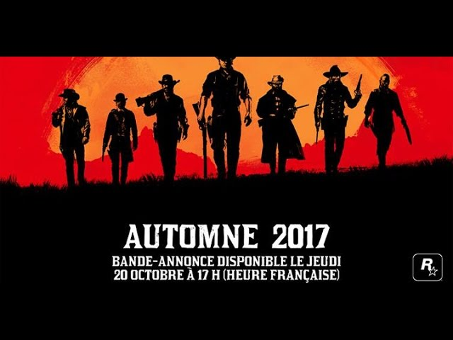 Premier Trailer Red Dead Redemption 2