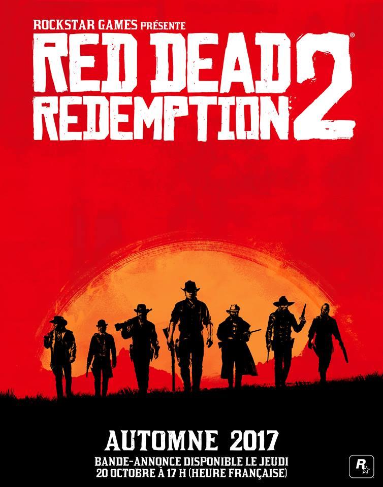 Affiche FR Red Dead Redemption 2