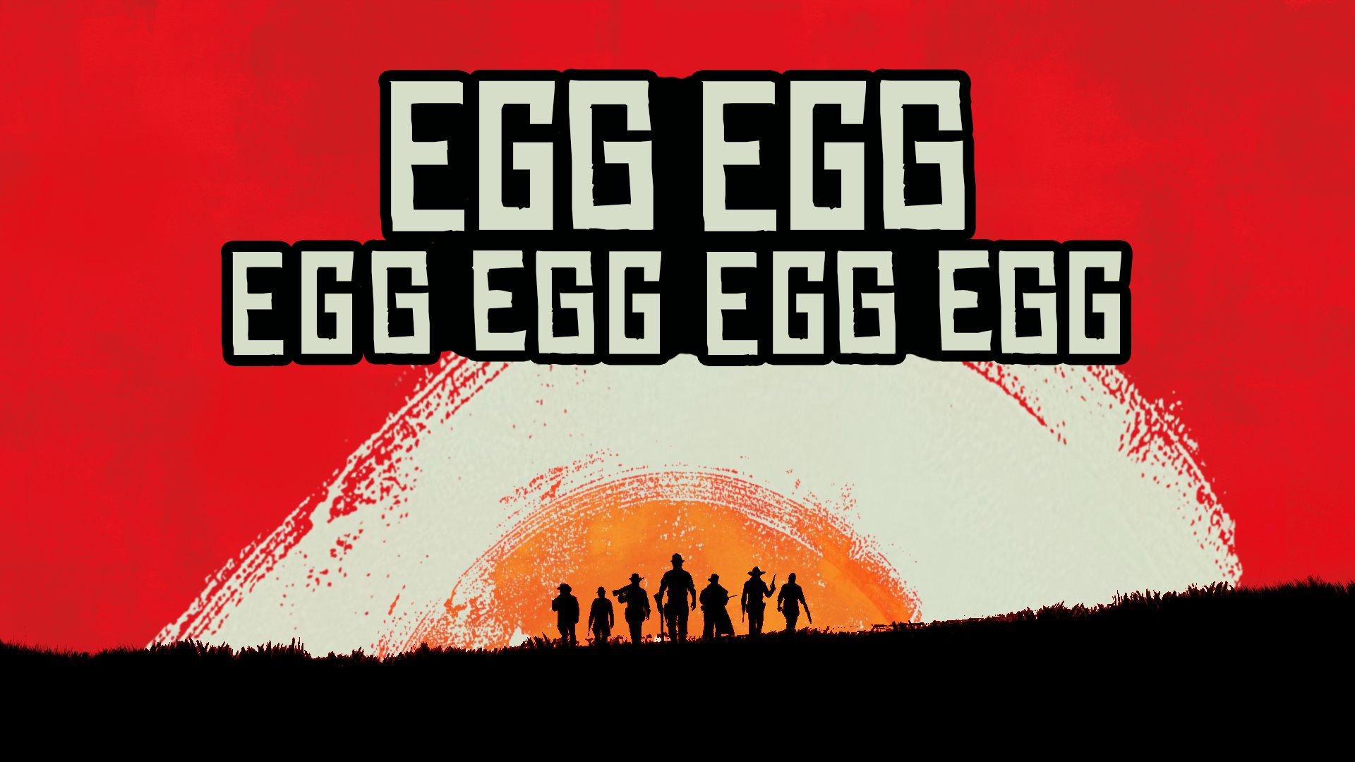 Parodie Egg Egg Red Dead Redemption 2