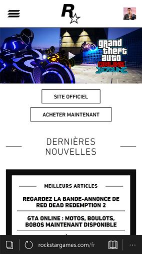 site web officiel