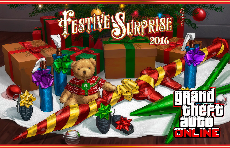 GTA Online Festive Surprise 2016