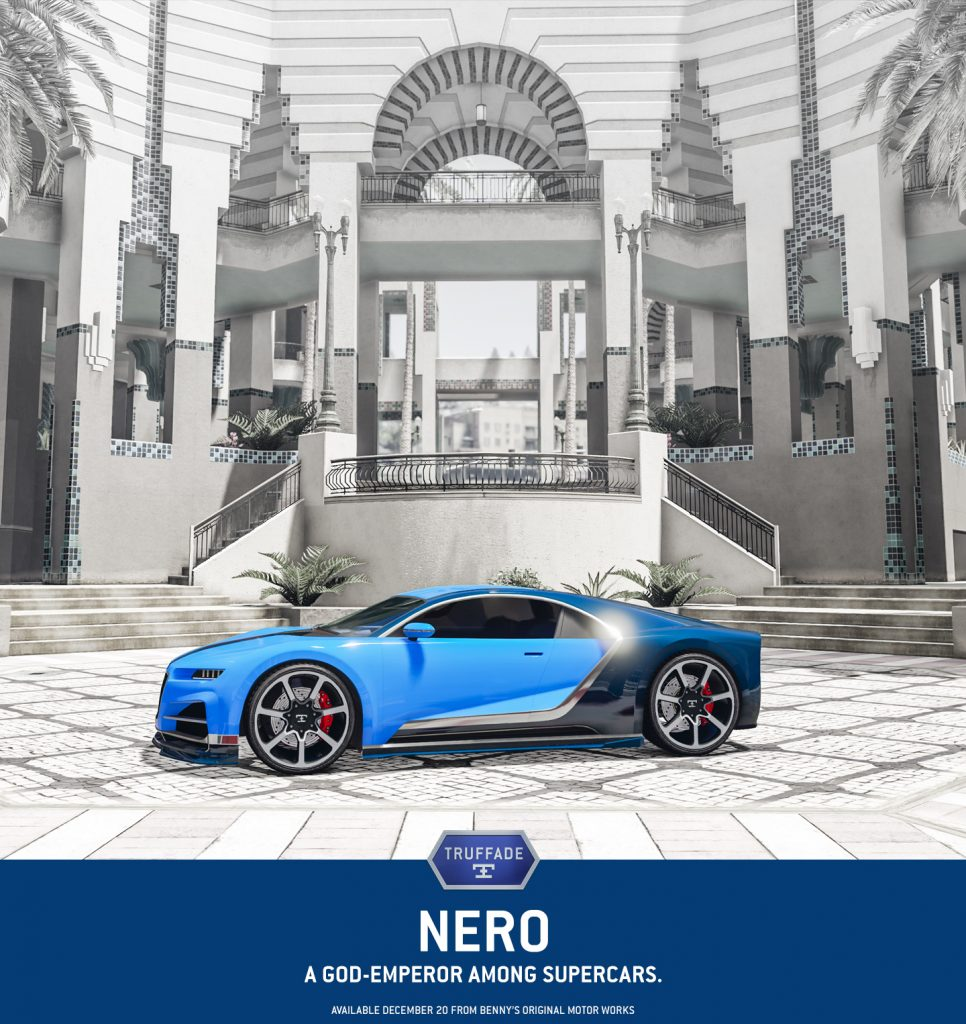 GTA Online Festive Surprise 2016 - Truffade Nero