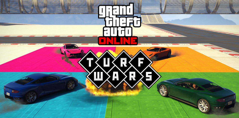 GTA Online : Nouveau Mode De Jeu Turf Wars