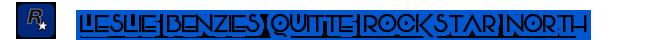 Rockstar Games - Bilan 2016 - Leslie Benzies