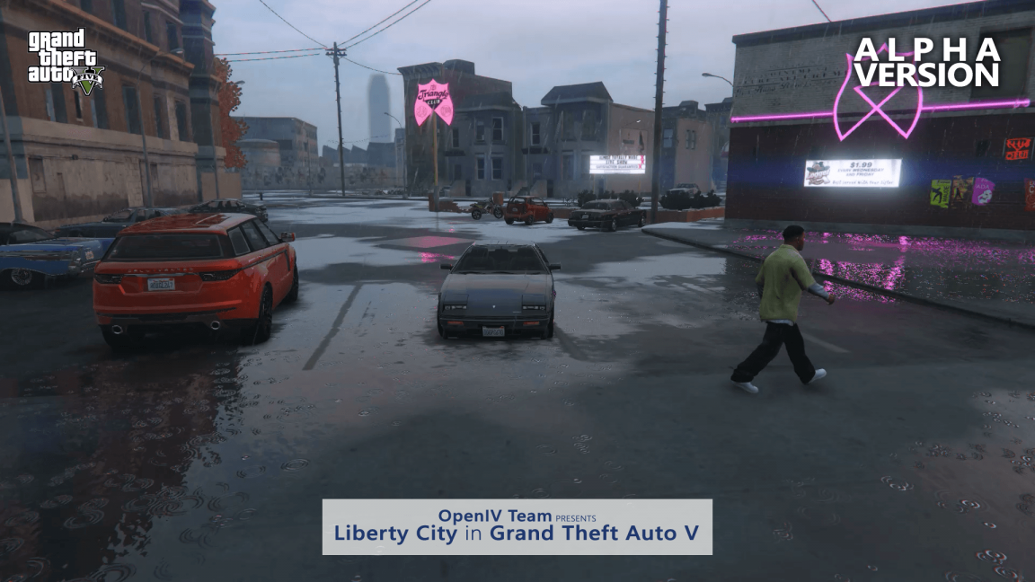Mod Liberty City GTA V