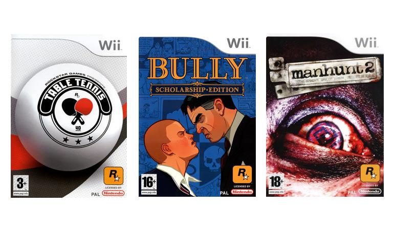 Cinquièmes Jeux Rockstar Nintendo