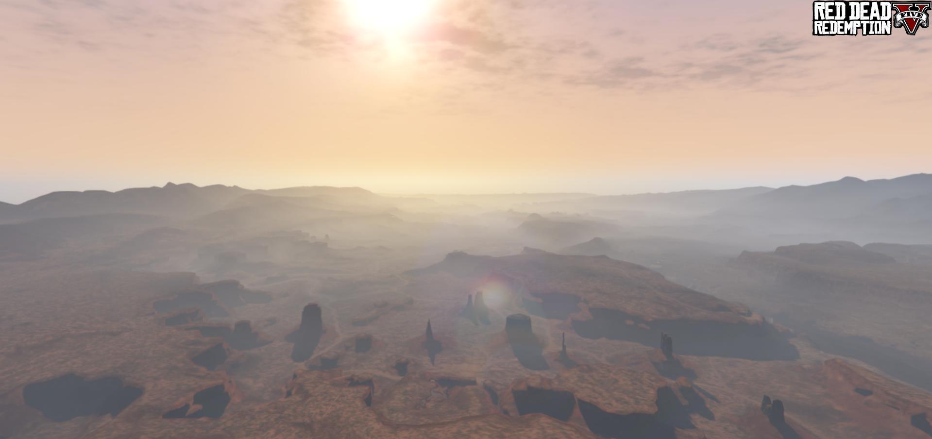Map Red Dead Redemption V - GTA V