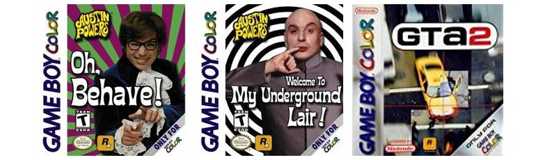 Seconds Jeux Rockstar sur Nintendo