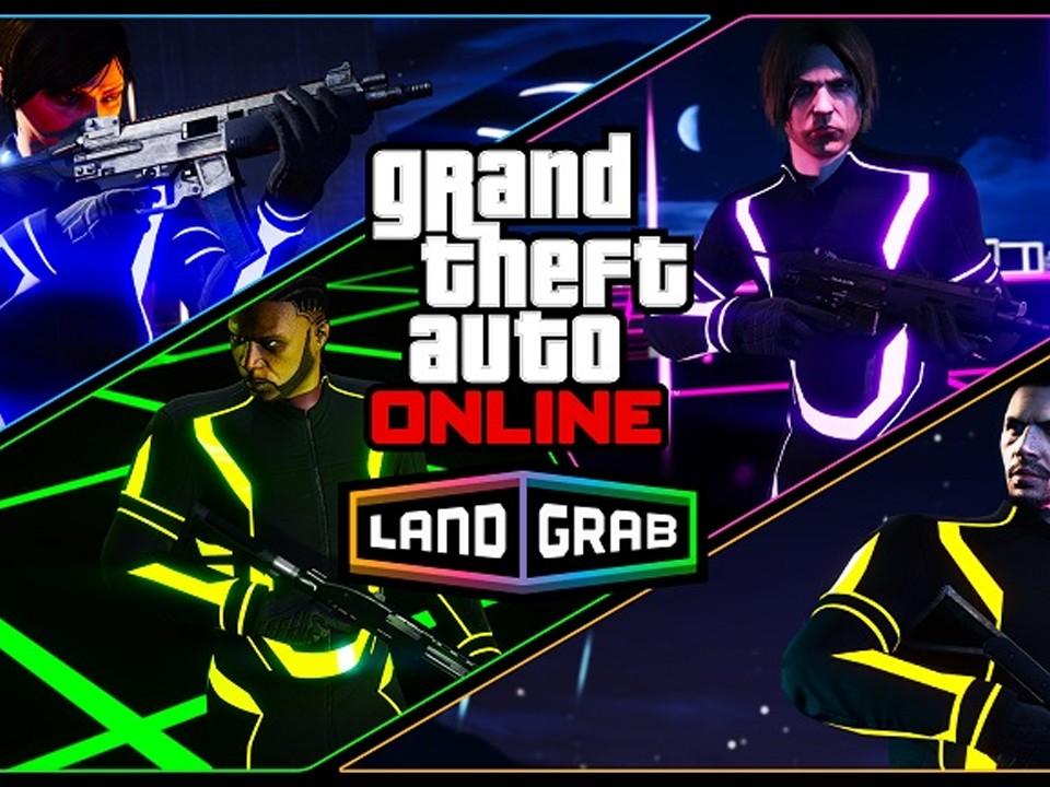 GTA Online Nouveau mode de jeu Lutte Territoriale