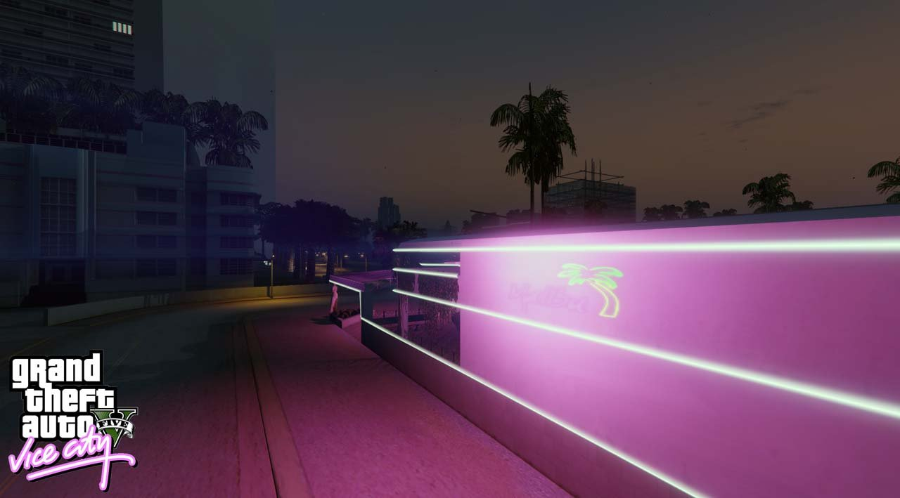 Vice V - Vice City pour GTA V