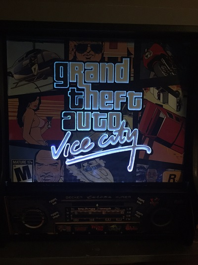 flipper Vice City écran