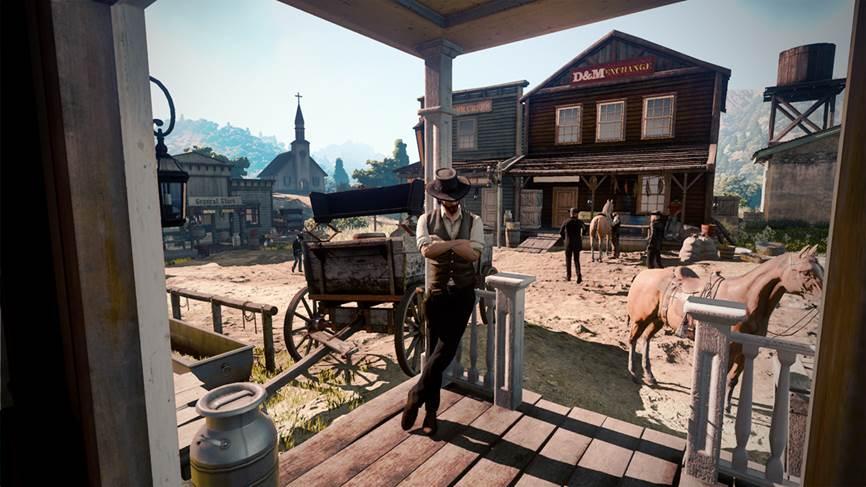 Red Dead Redemption 2 Première Image