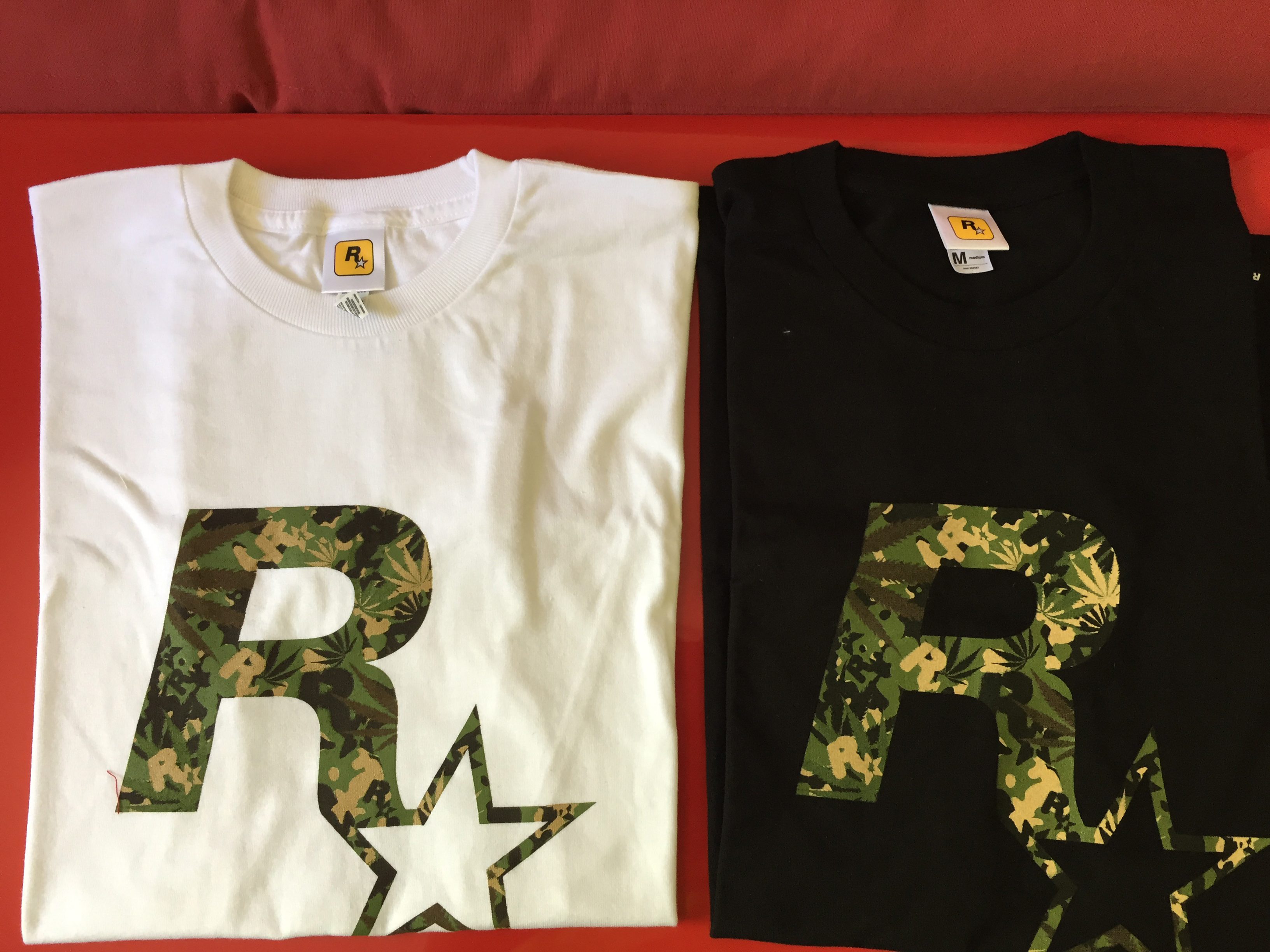 Rockstar Games - T-shirt Camouflage