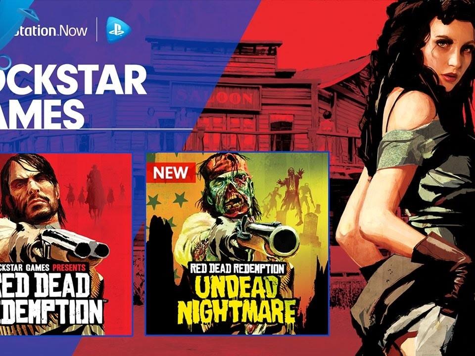 Red Dead Redemption PS4 et PC PS Now