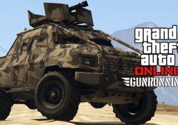 GTA Online HVY Pick Up Insurgent Custom