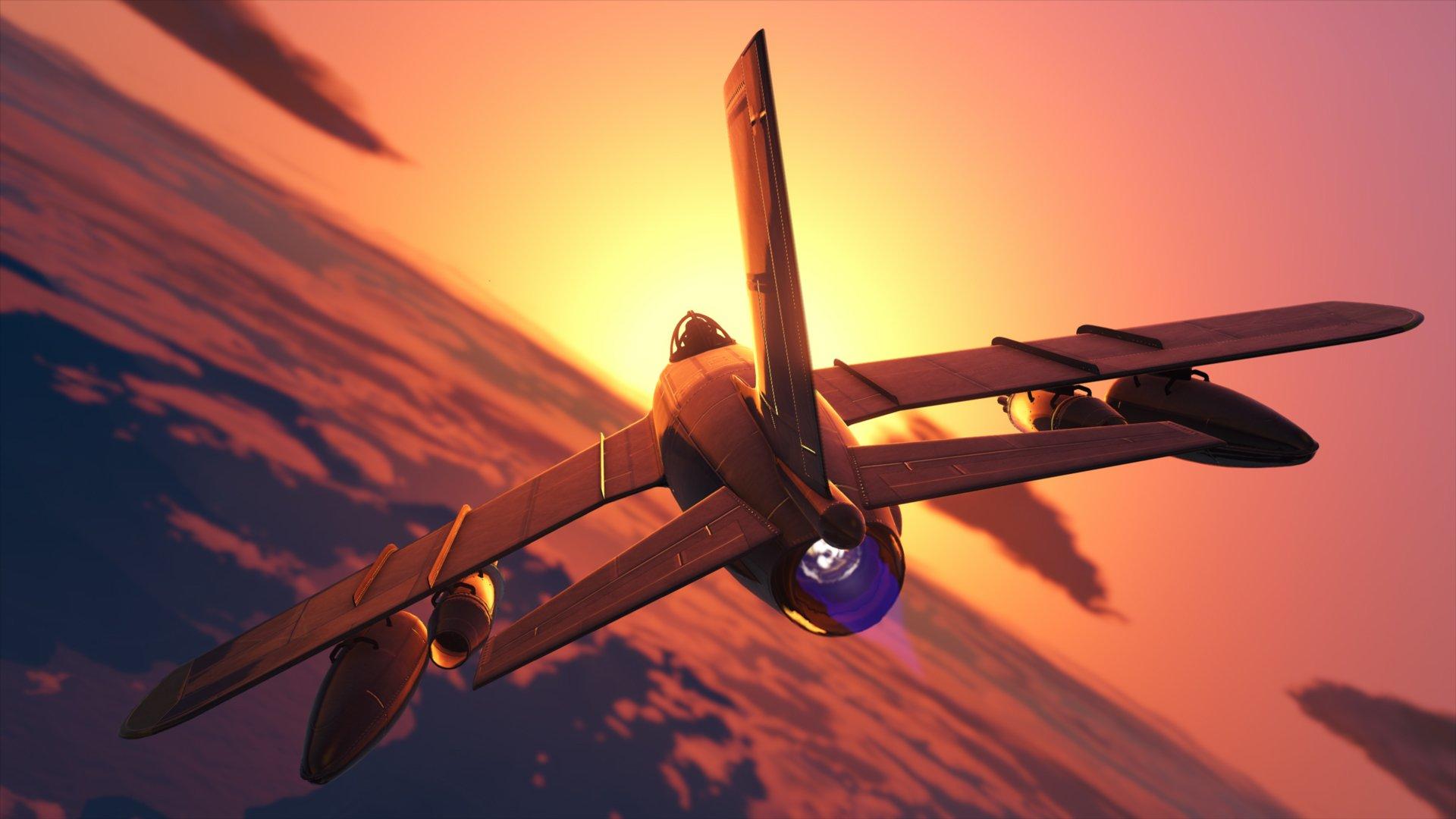 GTA Online Smuggler's Run V 65 Molotok