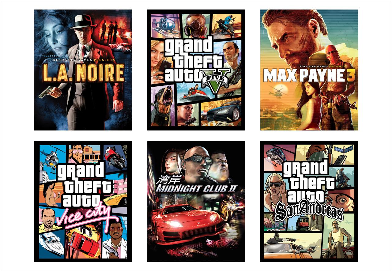 Jeux Rockstar en solde