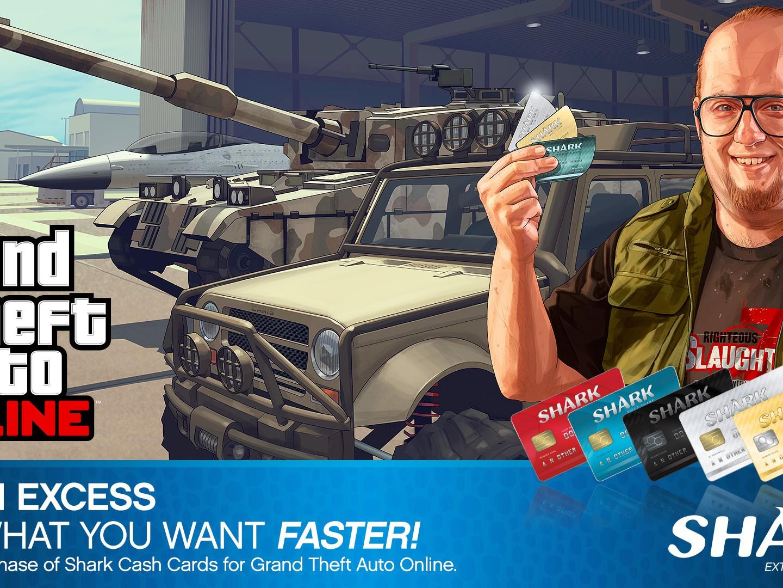 GTA Online Réduction Shark Cards