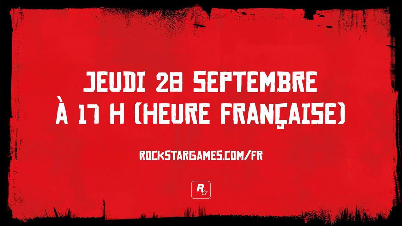 Infos Red Dead Redemption 2 28 septembre 2017